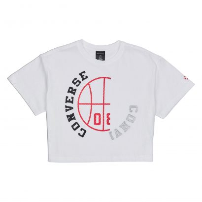 CONVERSE BASKETBALL WORDMARK MID RELAXED TEE
