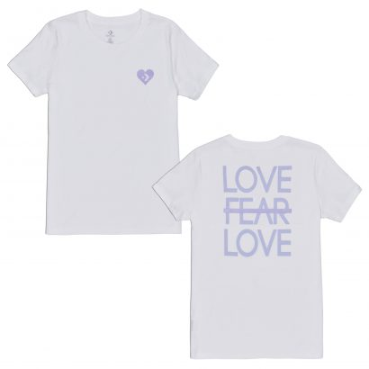 LOVE THE PROGRESS TIEBACK TEE