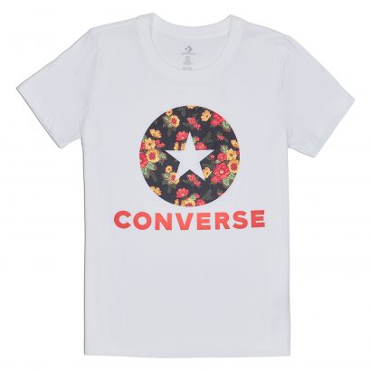CONVERSE IN BLOOM FLORAL TEE