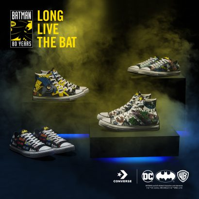 Converse Celebrates 80 years of Batman