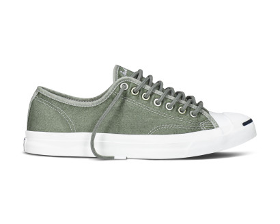 Converse Jack Purcell Suede Woven Bar Tape