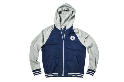 CORE HOODED BASEBALL JKT