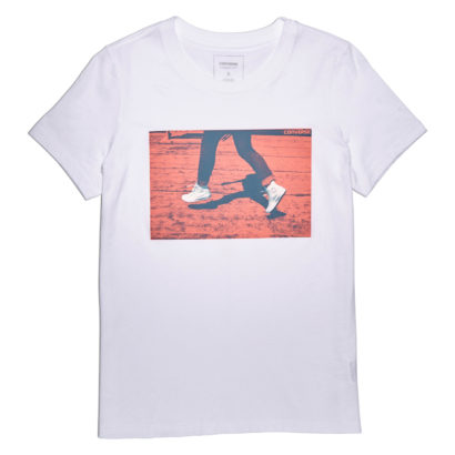 White Chucks Photo Crew Tee