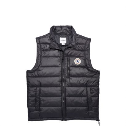 CORE POLY FILL VEST – BLACK – MEN