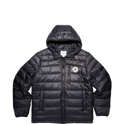 CORE POLY FILL JACKET – BLACK – MEN
