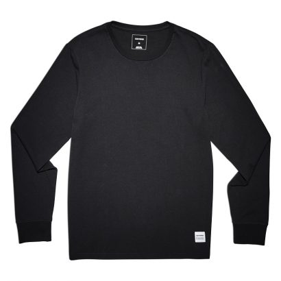 CONVERSE ESSENTIALS LS TEE – BLACK