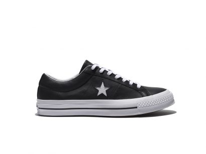 ONE STAR PERF LEATHER BLACK