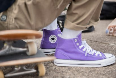 Chuck Taylor Hi Purple
