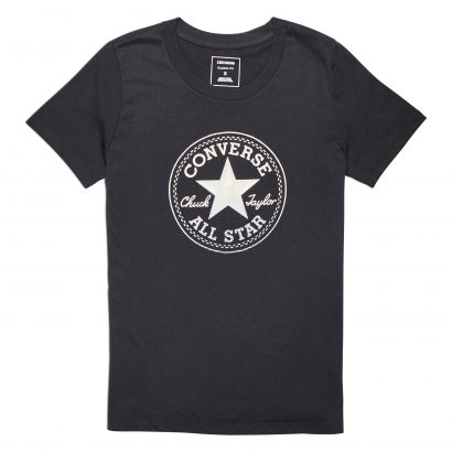 Clear Foil Chuck Patch C Tee