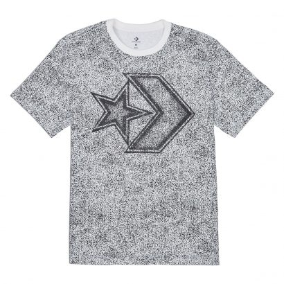 Distressed Star Chevron Tee