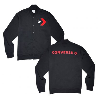 Converse Star Chevron Graphic Bomber Slim Fit