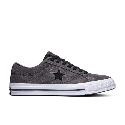 ONE STAR DARK STAR VINTAGE SUEDE – OX – ALMOST BLACK/BLACK/WHITE