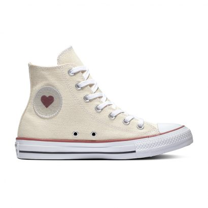 CHUCK TAYLOR ALL STAR DENIM LOVE – HI – NATURAL/BLACK/GARNET