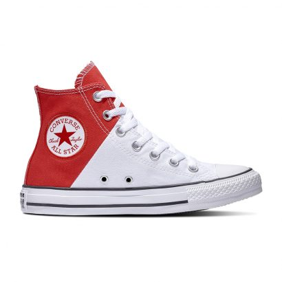 CHUCK TAYLOR ALL STAR SHADOW PLAY – HI – ENAMEL RED/WHITE/ENAMEL RED