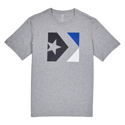 Converse Star Chevron Box Tee – VINTAGE GREY HEATHER