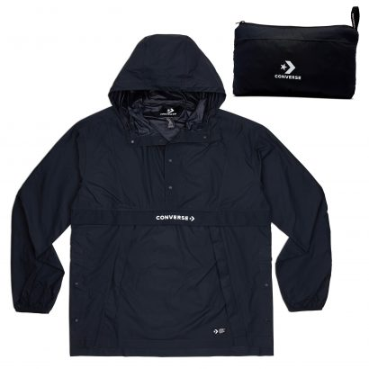 M Packable Hooded Anorak BLACK