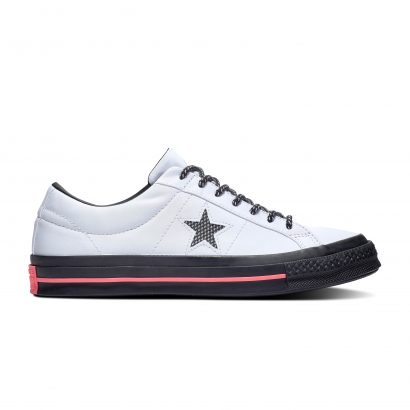 One Star WHITE/BLACK/RACER PINK