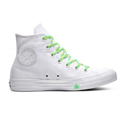 Chuck Taylor All Star WHITE/ACID GREEN/FRESH YELLOW