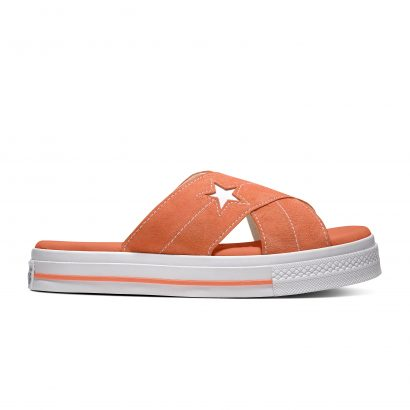 One Star Sandal TURF ORANGE/EGRET/WHITE