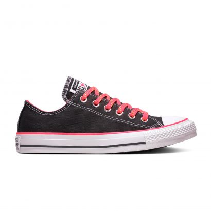Chuck Taylor All Star BLACK/RACER PINK/WHITE