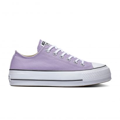 Chuck Taylor All Star Lift WASHED LILAC/BLACK/WHITE