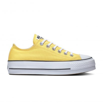 Chuck Taylor All Star Lift BUTTER YELLOW/BLACK/WHITE