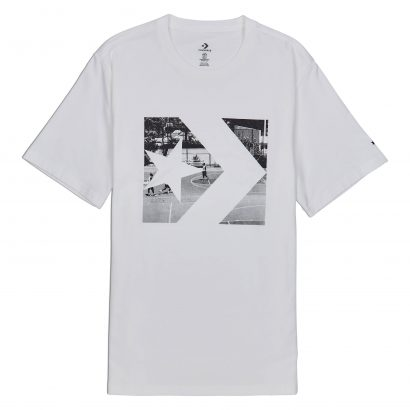 CONVERSE PHOTO FILL STAR CHEVRON TEE