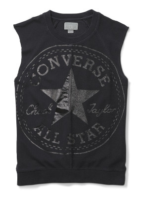 SLEEVELESS CHUCK PATCH CREW