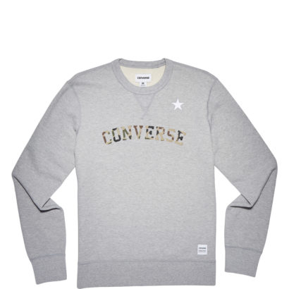 Converse Essentials Camo Star Crew