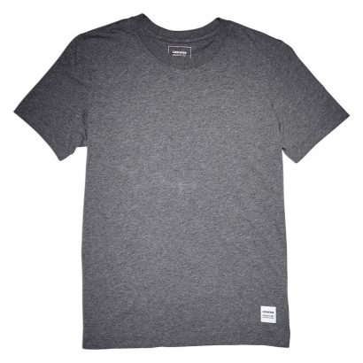 CONVERSE ESSENTIALS TEE – CHARCOAL MARL