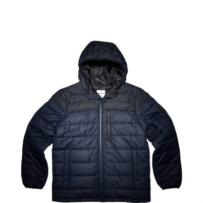 CORE POLY FILL JACKET – DARK OBSIDIAN / BLACK – MEN