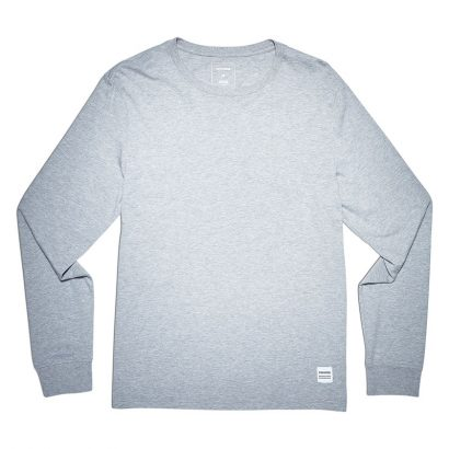CONVERSE ESSENTIALS LS TEE – LIGHT GREY