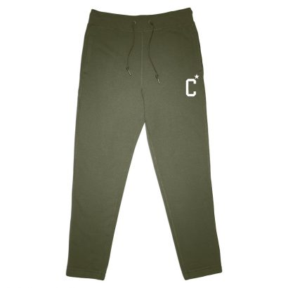CONVERSE ESSENTIALS COLLEGIATE STAR JOGGER – MEDIUM OLIVE