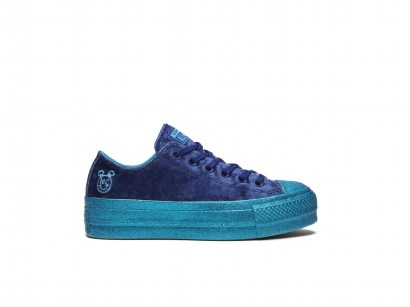Converse x Miley Cyrus Chuck Taylor All Star Lift Velvet Low Top