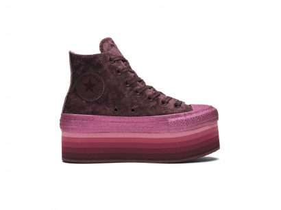 Converse x Miley Cyrus Chuck Taylor All Star Platform Velvet High Top