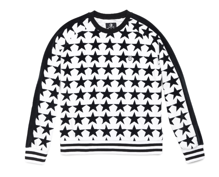 Converse x Miley Cyrus Women's Velour Sweatshirt