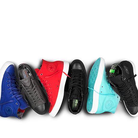 CONVERSE UNVEILS BOLD FOOTWEAR COLLECTION WITH RAPPER WIZ KHALIFA