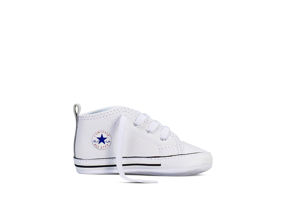 Chuck Taylor All Star Crib Carryover First Star White Leather