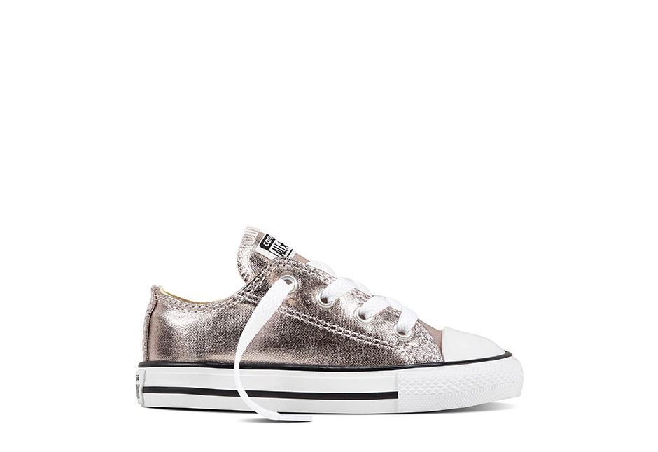 Infant Chuck Taylor All Star Seasonal Metallic Rose Quartz