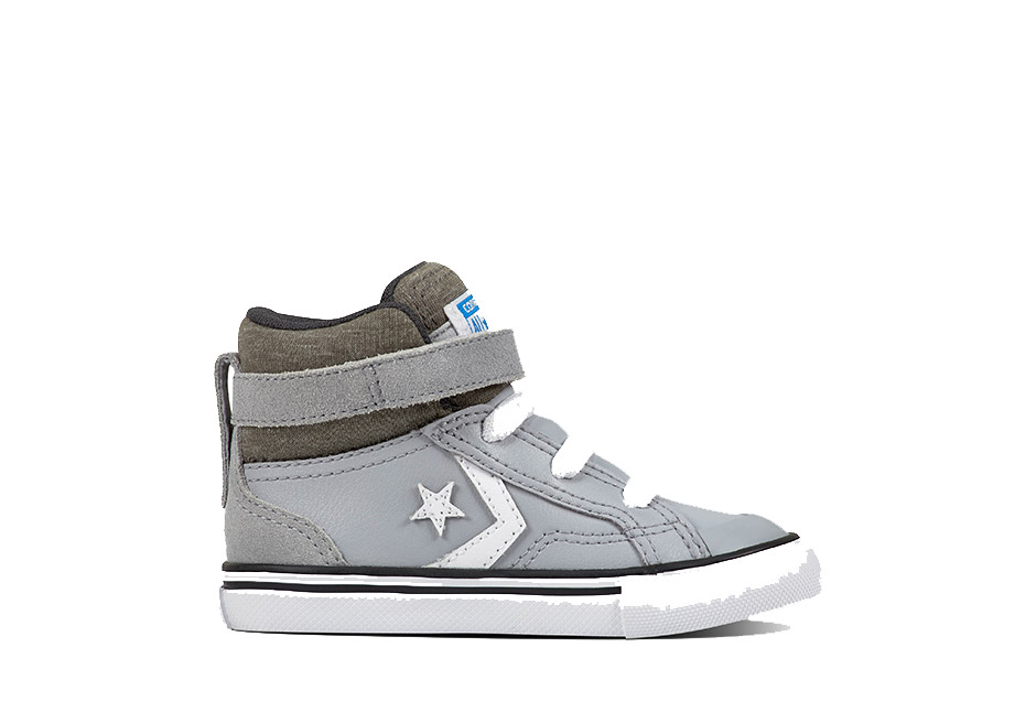 Infant Pro Blaze Strap Stretch Pro Blaze Leather and Suede Wolf Grey