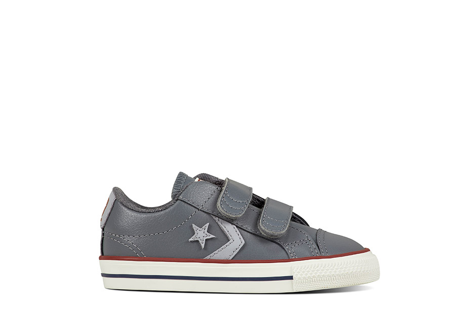 Infant Star Player EV 2V Leather Cool Grey