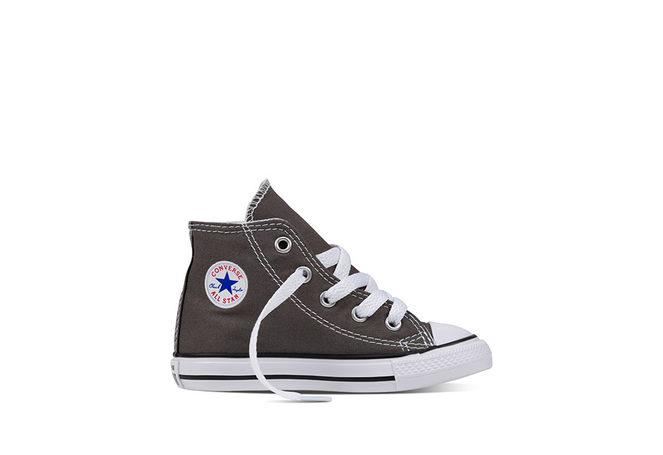 Infant Chuck Taylor All Star Core Hi Charcoal