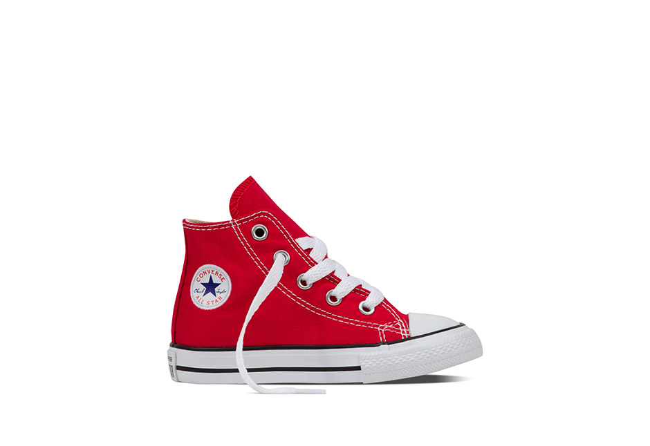 Infant Chuck Taylor All Star Core Hi Red