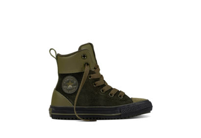 Junior Chuck Taylor All Star Asphalt Boot Leather Medium Olive