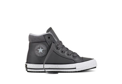 Junior CTAS Converse Boot PC Leather Speckle Thunder
