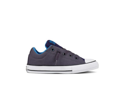 Junior Chuck Taylor All Star Street Holiday Fundamentals Shark Skin