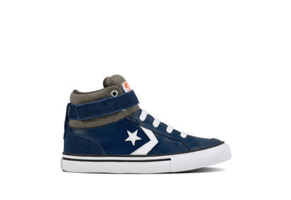 Junior Pro Blaze Strap Stretch Pro Blaze Leather and Suede Navy