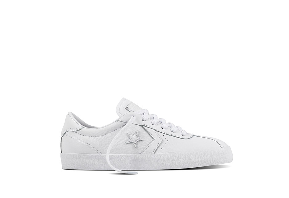 Unisex Breakpoint Foundational Leather White