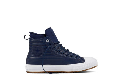 Unisex CT WP Boot Quilted Leather Midnight Navy