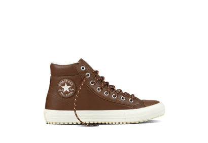 Unisex Chuck Taylor All Star Boot PC Tumble Leather Dark Clove
